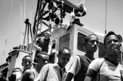 Art and Documentary Photography Blog - Loading Asylum seekers, Malta